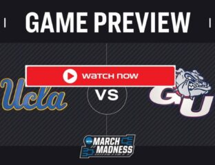 UCLA is gearing up to face Gonzaga on the court. Find out how to live stream the NCAA game online for free.
