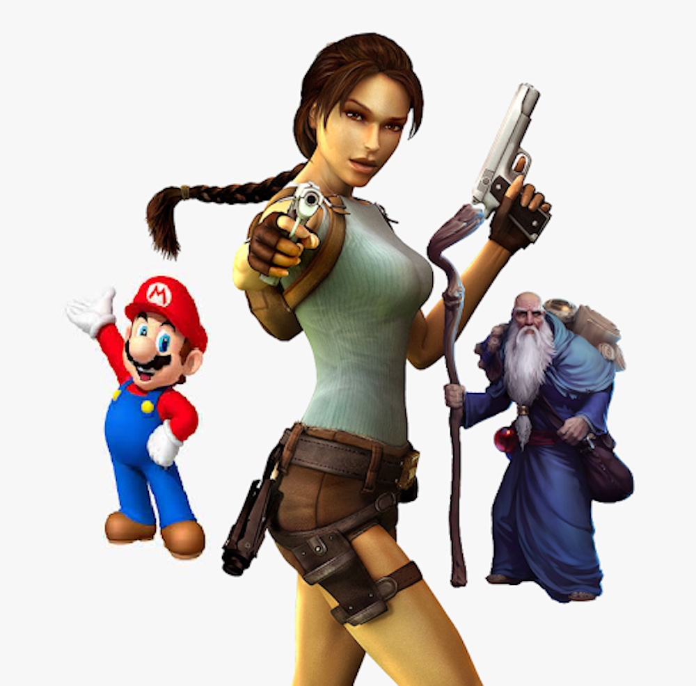 Gaming has been an integral part of our lives for the past decades. Here are the most famous game characters in the world.