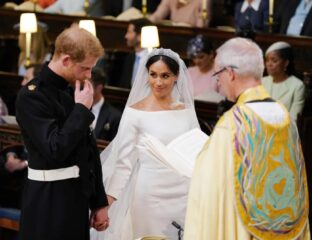 Prince Harry and Meghan Markle admitted to having a secret ceremony days before their wedding in their Oprah interview. See the images of the event here.