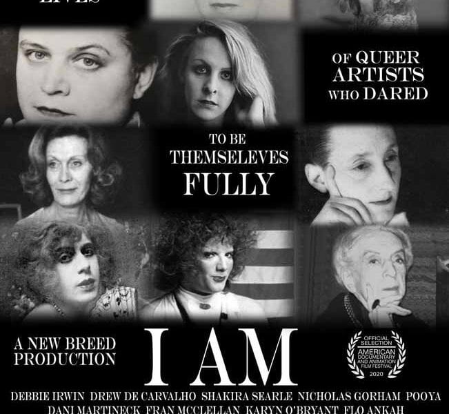 'I Am' gives forgotten LGBTQ+ artists a chance to be recognized for their activism. Check out the artists profiled in this moving doc.