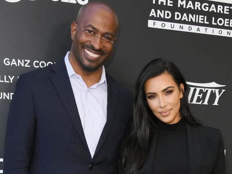 We're sure you've heard of Van Jones from CNN. Could it be that the news anchor is head over heels for Kim Kardashian? Find out the gossip here.