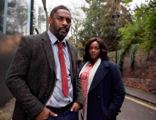 Idris Elba in 'Luther' is not