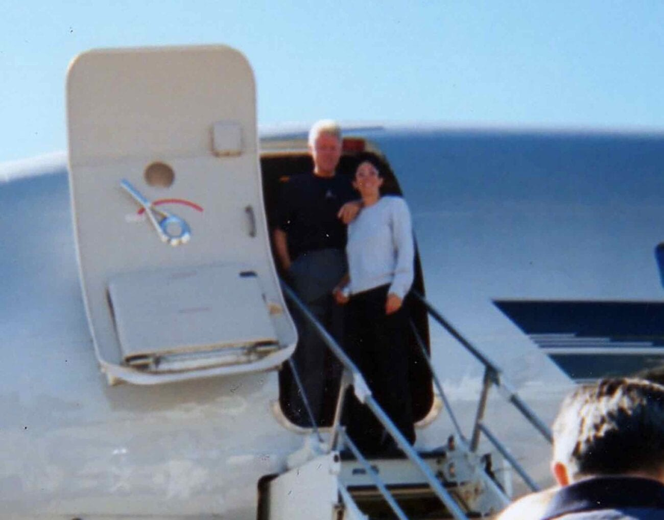 How close were Ghislaine Maxwell and Bill Clinton? Examine these newest photos showing an early interaction between the two.