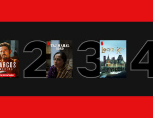 The movies & TV shows available on Netflix right now just keep getting better & better. Check out the most recent top 10 series.