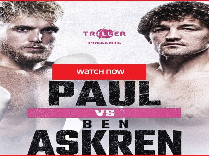 Jake Paul and Ben Askren are going head to head tonight in a highly hyped up fight. Here's how you can stream the game.