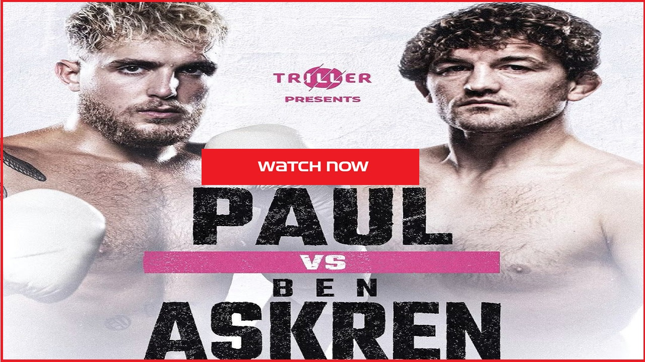 Jake Paul vs Ben Askren Free Stream, How to Watch - Film Daily