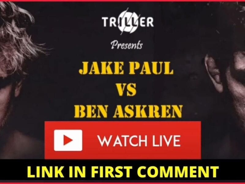 We're now merely days away from YouTuber Jake Paul taking on ex-MMA fighter Ben Askren in a boxing ring. Here's how to live stream the event.