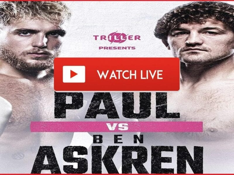 Ben Askren will be coming out of retirement to face Jake Paul after they got into a heated war of words. Watch the live stream here.