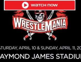 WrestleMania 37 is here. Find out how to live stream the WWE event online for free.