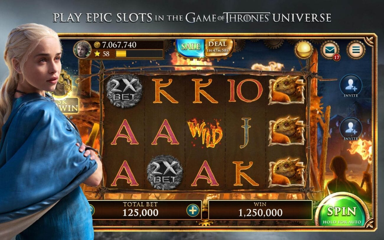 There are tons of slot machines inspired by movies and TV shows. Check out some of the best ones here.