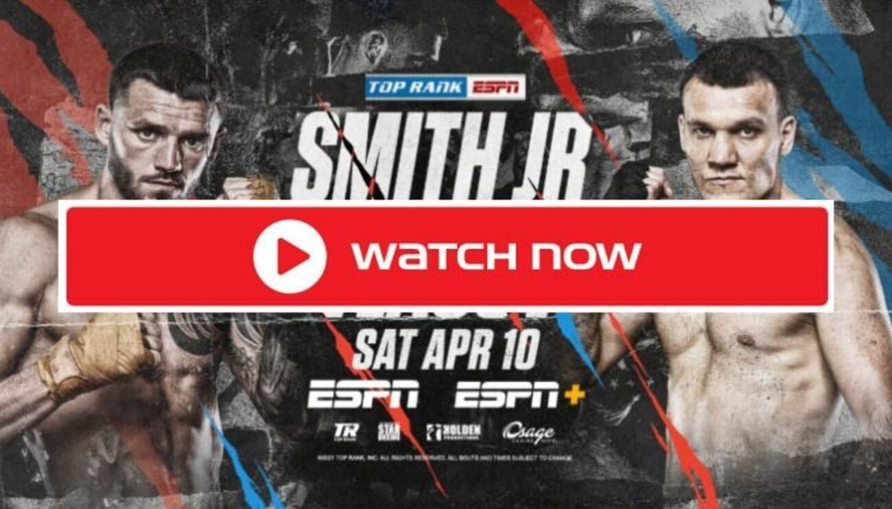Smith Jr. is set to face Vlasov in the boxing ring. Find out how to live stream the boxing event online and on Reddit for free.