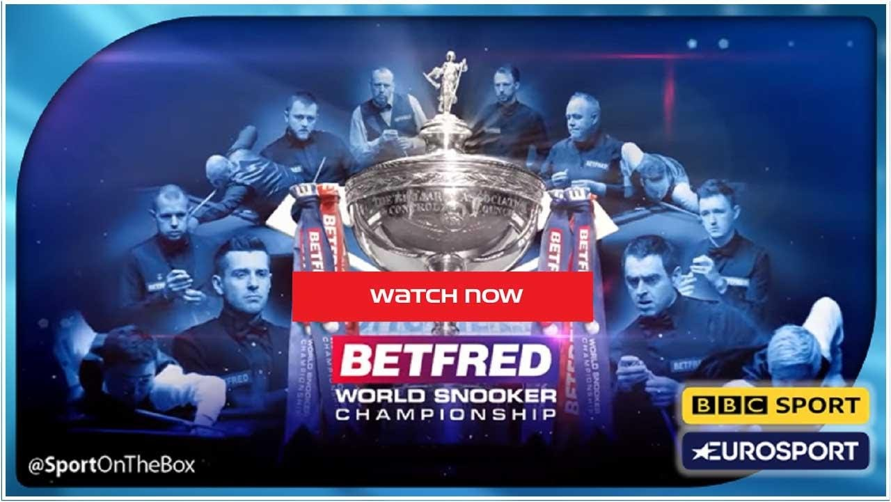 The competition runs from Saturday, 17 April to Monday, 3 May, and fans will be allowed to watch snooker's biggest tournament live. Here's how.