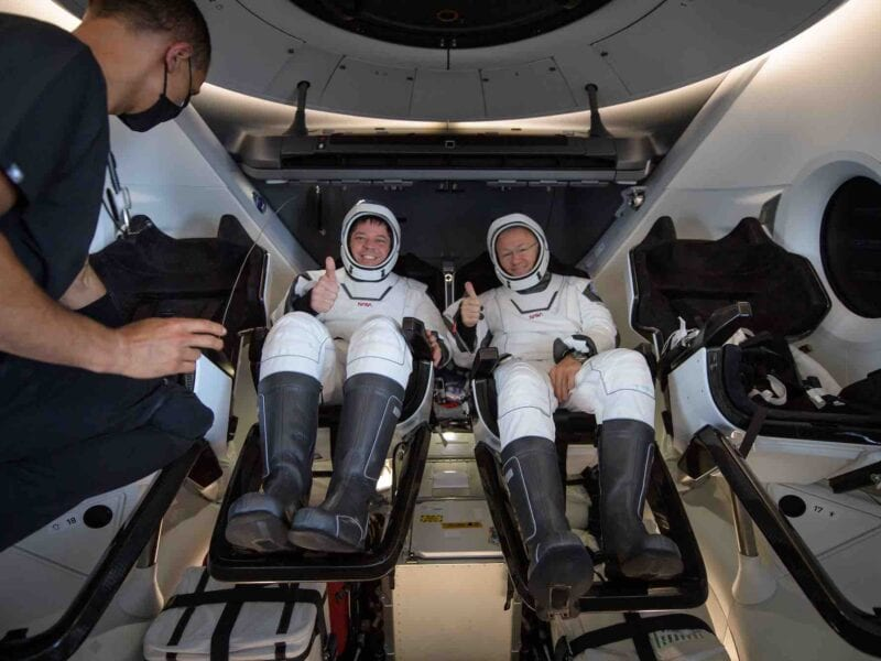 What caused a close call with the crew on the SpaceX Dragon heading to the Space Station? Rocket up to learn what happened.