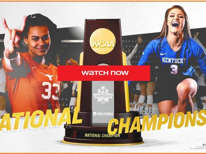 Texas is gearing up to face Kentucky on the court. Find out how to live stream the finals game online for free.