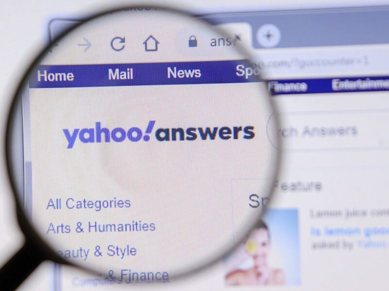 Ready to dive into the funny world of Yahoo Answers? Send internet icon off with some seriously funny answers.