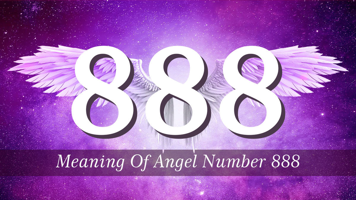 888 is a numerical representation of the messages from your angels. Find out what these messages mean for your life.