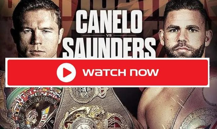 Don't waste another minute looking! Watch Canelo vs Saunders right now for free from anywhere in the world. Stream the big boxing match with ease here.