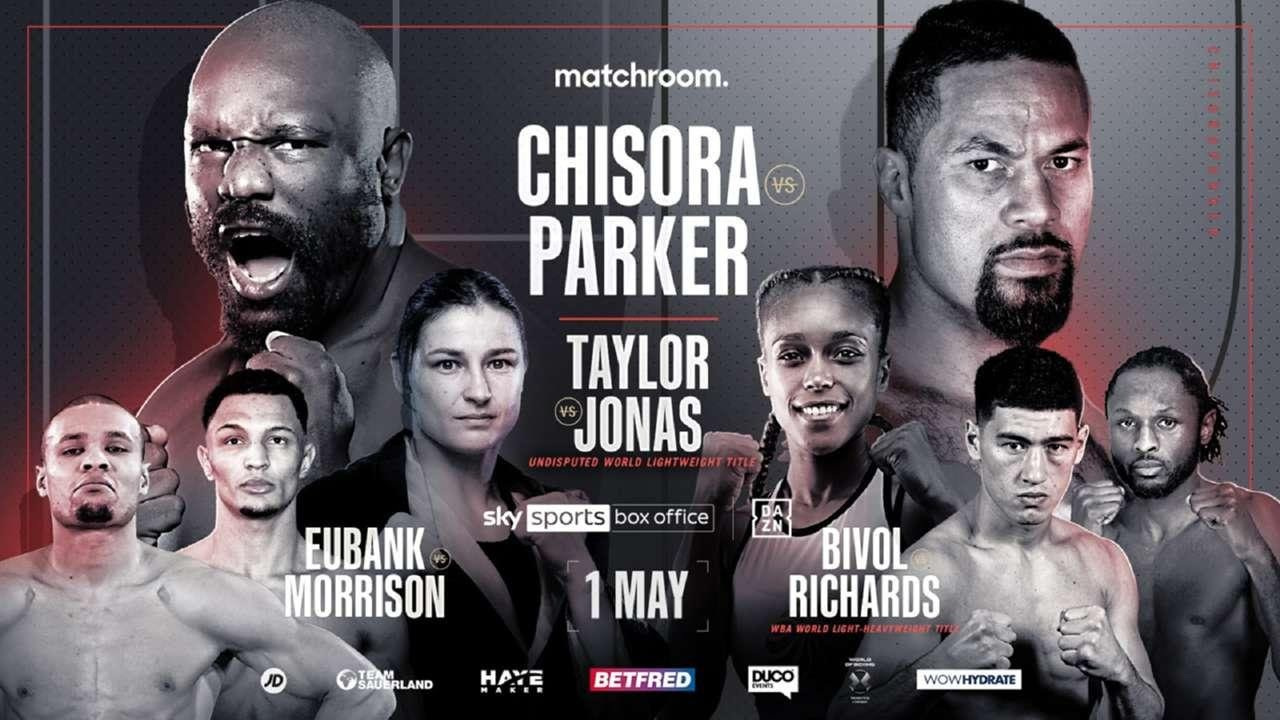 It's time for 'Chisora vs Parker'. Find out where the heavyweight bout live by round is streaming and when you can watch it for free Reddit.