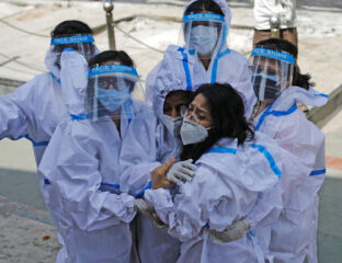 Will travel restrictions to and from India help stop the spread of COVID? See how the pandemic has surged and how global forces are working to fight it.