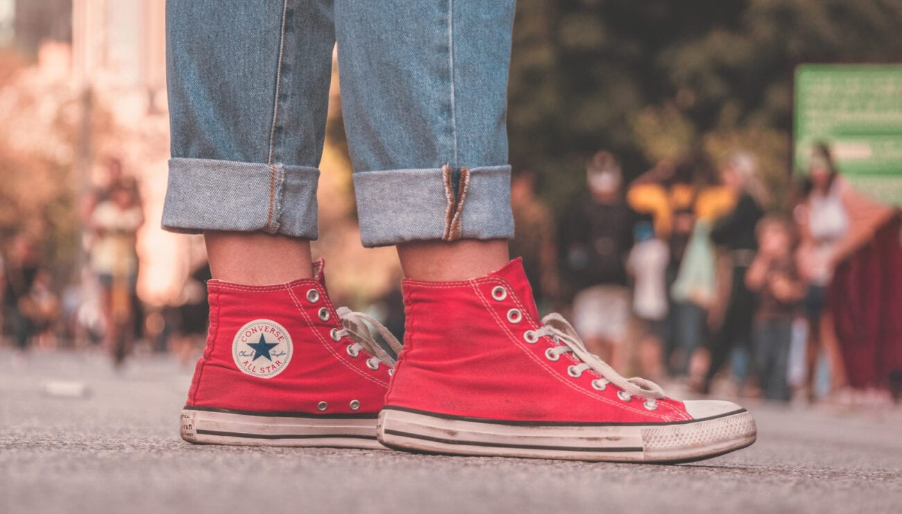 Did Converse rip off one of their intern applicants for a popular shoe line? Check out how eerily similar their high tops are right here.