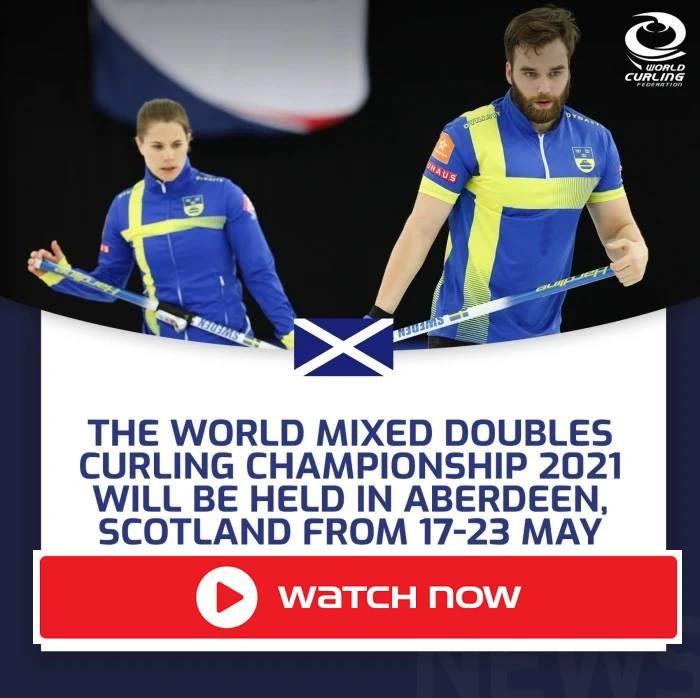 Don't miss the World Mixed Doubles Curling Championship tonight! Watch all the action from anywhere in the world right now with these tips!