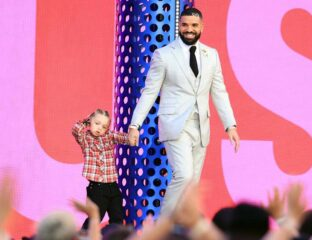 """Drake won the hearts of the crowd when he debuted his three-year-old kid yesterday.Get ready to go """"awww"""" over Drake and his adorable kid Adonis."""