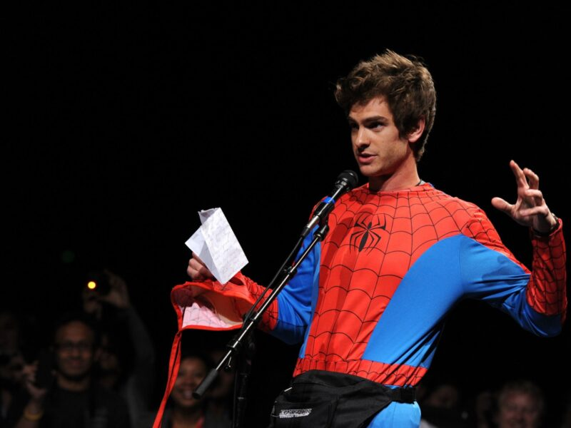 So now Andrew Garfield says he's not coming back as Spider-Man? Hone your spider-sense into the actor's latest interview and see if you can spot any lies!