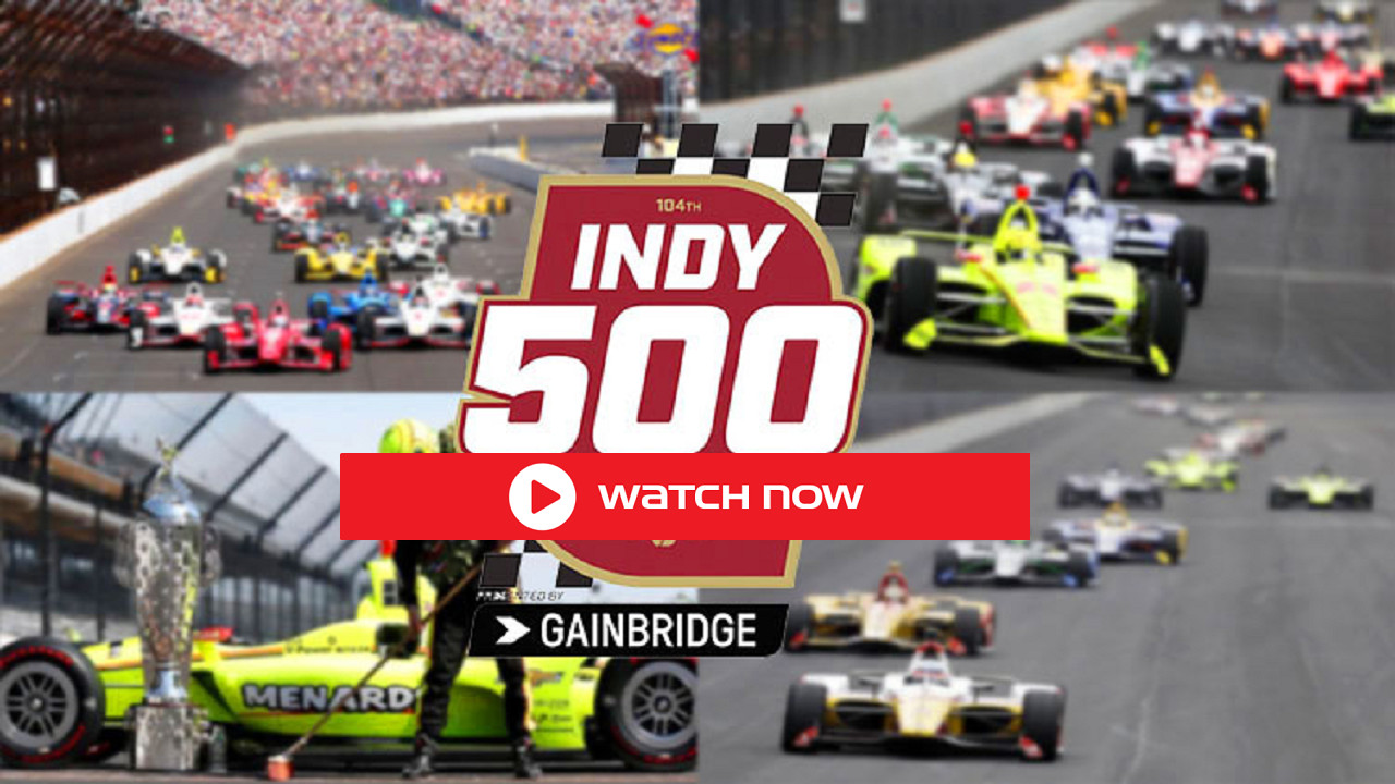 Don't miss this big, historic day in racing! The 105th Indianapolis 500 is on, and you can stream and Indy 500 from start to finish right now!