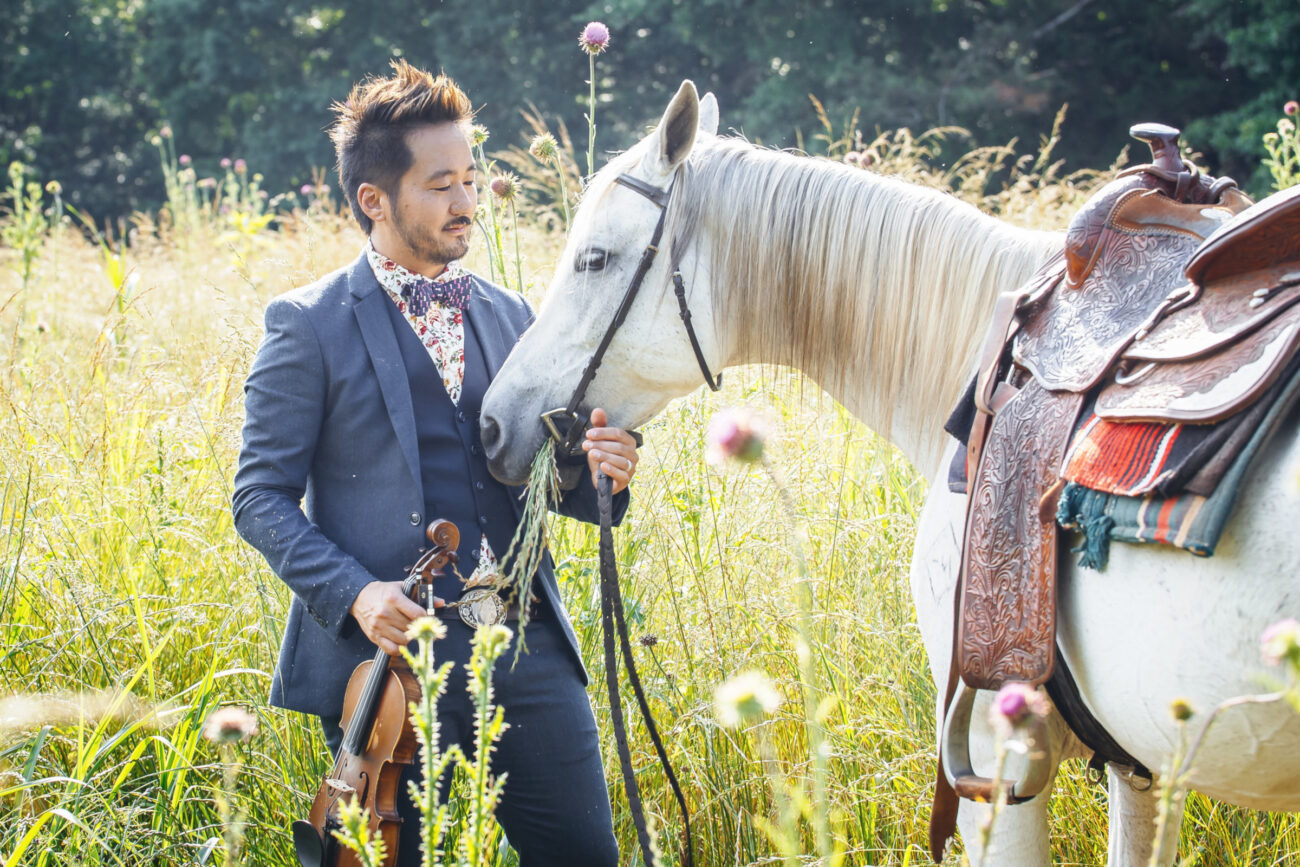 From the Japanese internment to increased violence against Asian Americans during COVID, see what musician Kishi Bashi told NPR about writing his new song.