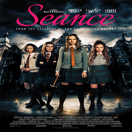 Are you looking to watch something scary? Stream the movie 'Seance' from anywhere in the world and frighten the bejeezus out of yourself now!