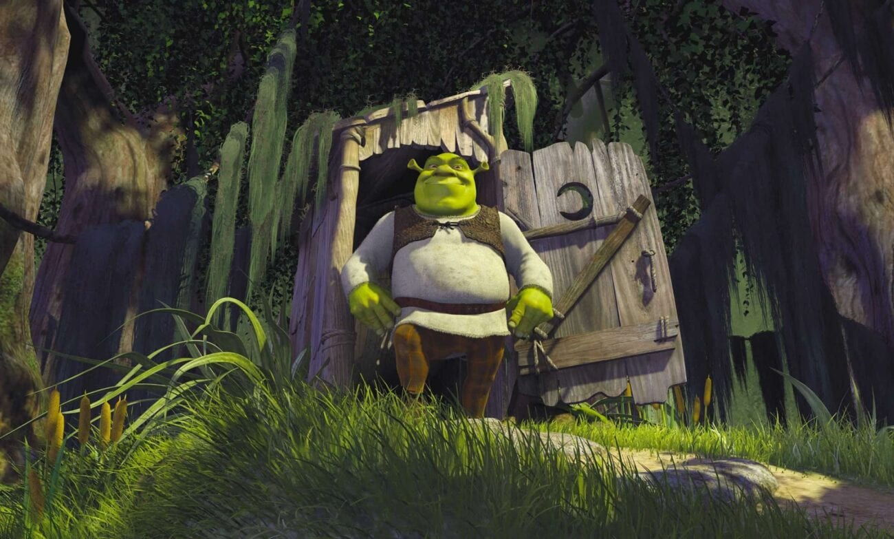 """Remember Shrek going about his business to the tune of """"All Star""""? Celebrate twenty years of ogre adventures by reminiscing about the movie's soundtrack!"""