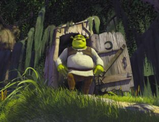 Remember Shrek going about his business to the tune of