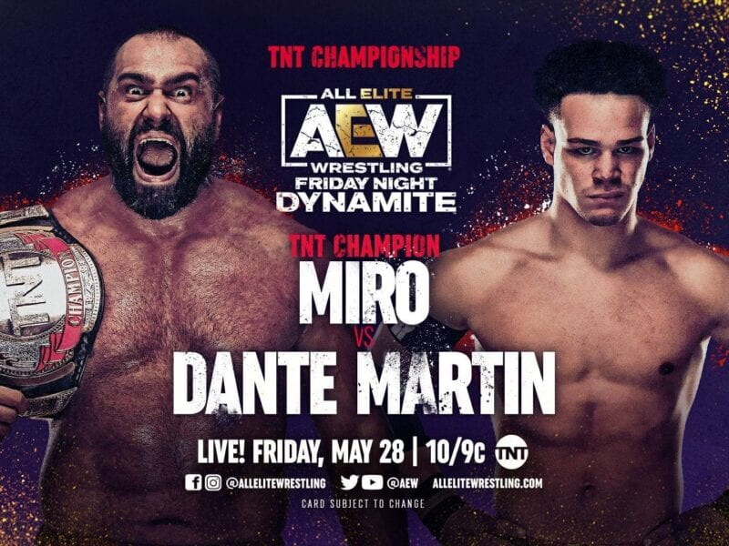 The show will be AEW's first since the pandemic started to take place in front of a full crowd. Watch Double or Nothing here.