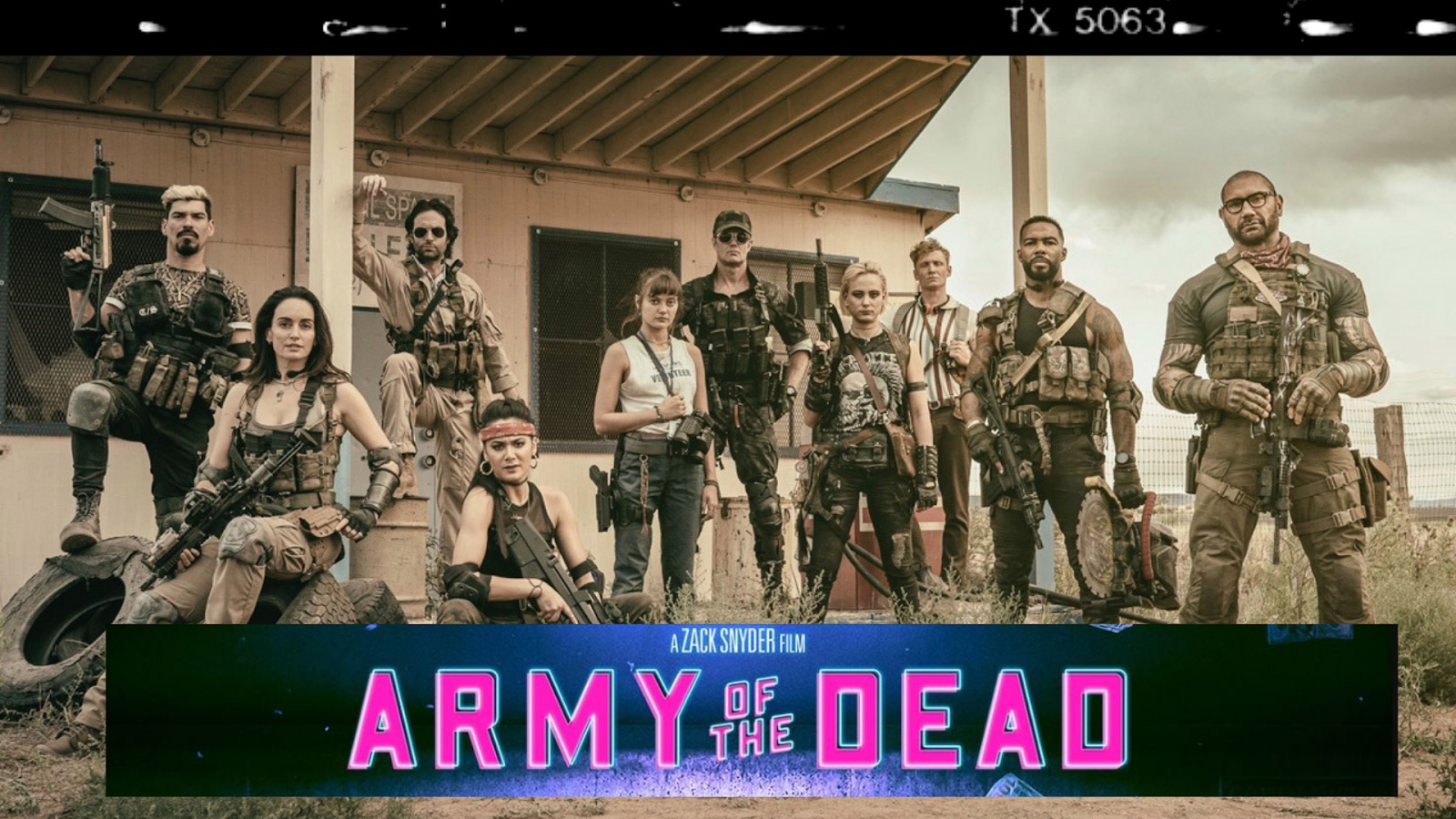 Army of the Dead 2021 action film watch on Netflix