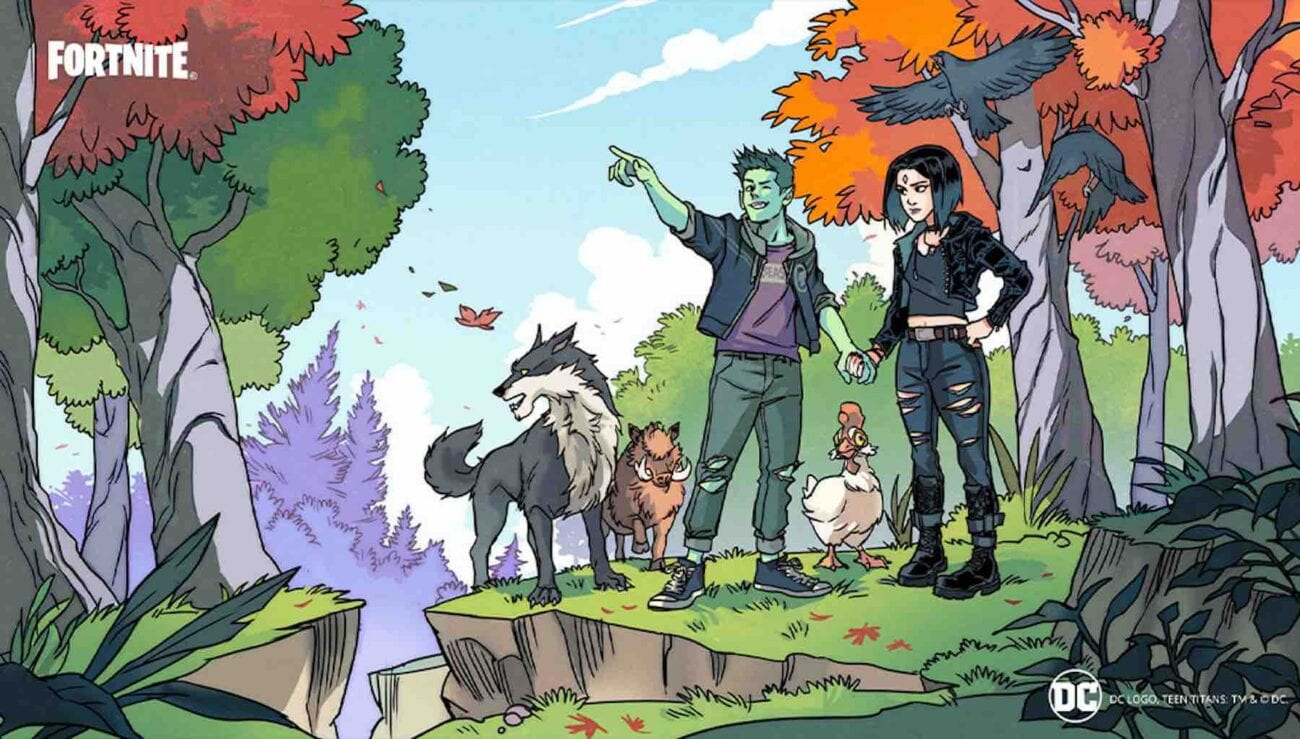 Ready to see Beast Boy do a dance on 'Fortnite'? See the reaction of another one of the 'Teen Titans' characters joining the 'Fortnite' universe.