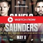It's time for 'Canelo vs Saunders'. Find out where super-middleweight world champion streaming and when you can watch it for free online.