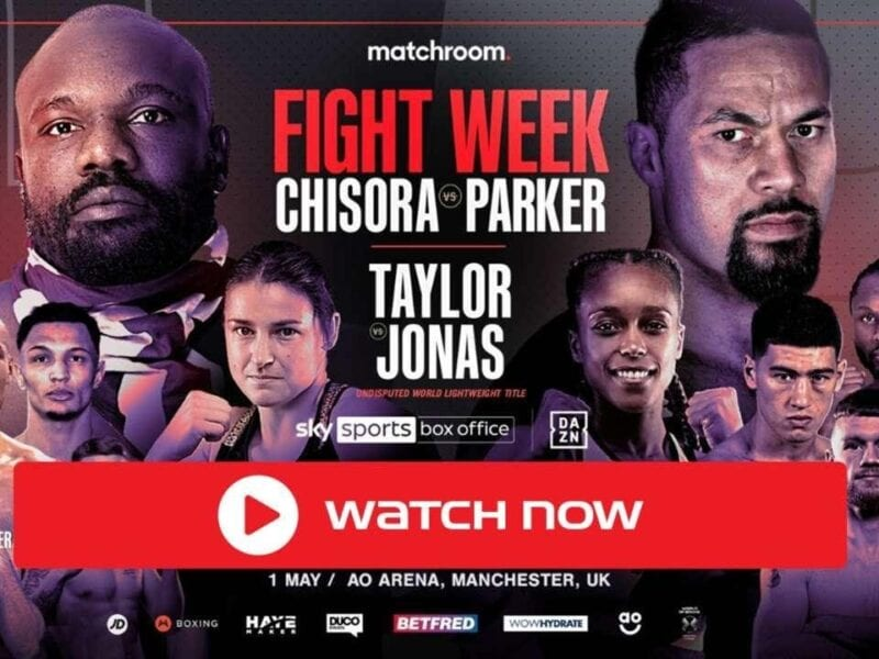 It's Parker vs Chisora time. Find out how to live stream the boxing championship for free on Reddit.