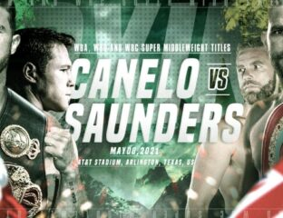 Saunders is ready to take on Canelo Alvarez in the ring. Find out how to live stream the boxing match on DAZN for free.