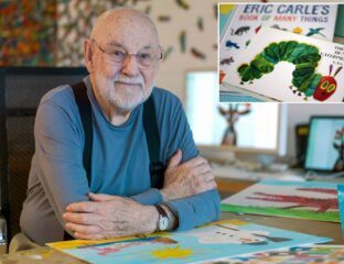Today we honor the loss of children's author Eric Carle, whose imagination was as bright as his stories. Do you have a favorite from his classics?