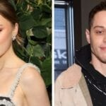 Pete Davidson has found new love in 'Bridgerton' star Phoebe Dynevor. Swoon over the romance between the 'SNL' and his new girlfriend.