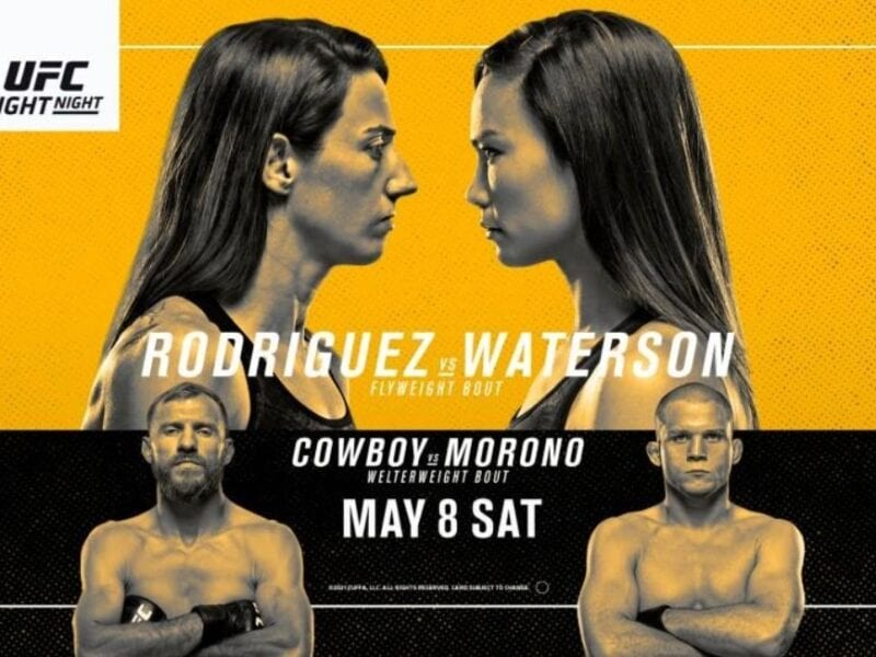 Rodriguez is gearing up to face Waterson in the UFC ring. Find out how to live stream the fight online for free.