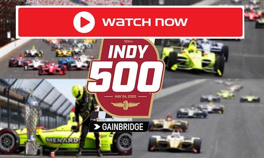 Race fans in central Indiana will be able to watch this year's Indianapolis 500 live on television. Join the live stream here.