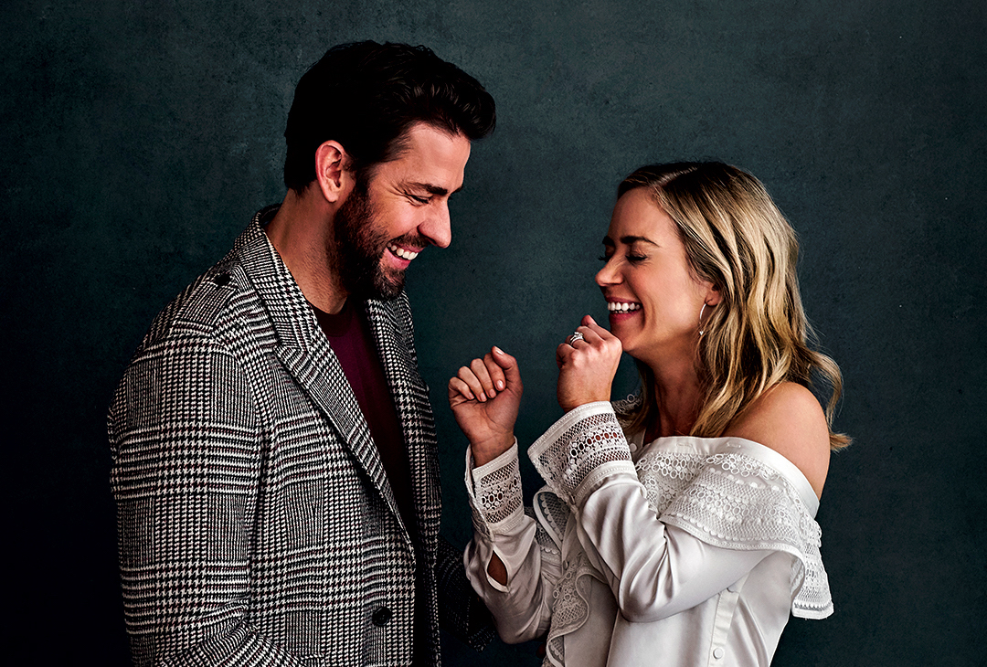 John Krasinski And Emily Blunt Fall In Love With The Husband And Wife Duo Film Daily