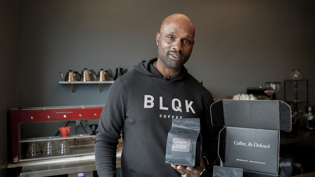 Former NFL star Justin Watson has become the CEO of BLQK Coffee. Learn more about Watson and the brand here.
