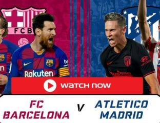 Barcelona are set to play the biggest La Liga match of their campaign. Find out how you can watch their match against Atletico Madrid.