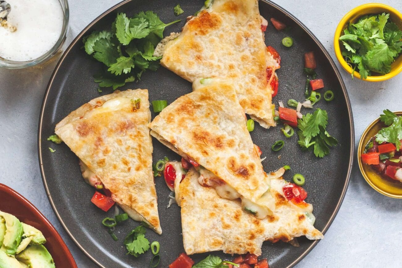 Are you craving some spicy food tonight? Instead of ordering Mexican carryout, try some of these delicious, easy, and unique quesadilla recipes!