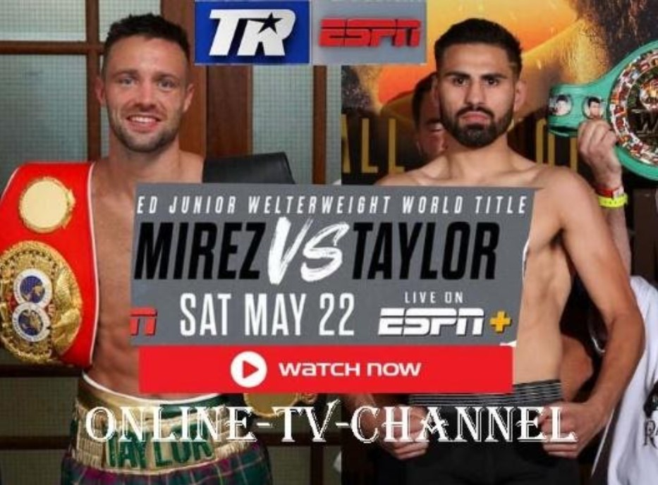 Ramirez is gearing up to face Taylor in the ring. Find out how to live stream the anticipated boxing event online for free.