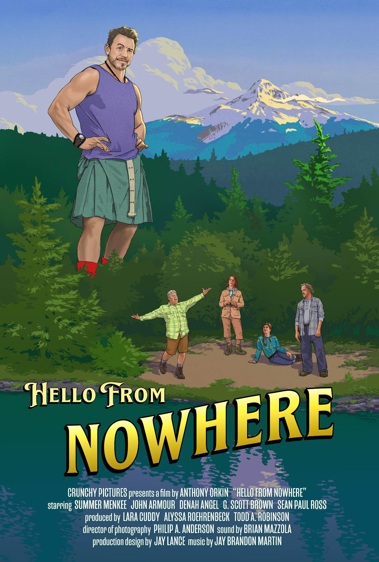 Anthony Orkin is the writer and director of the new film 'Hello from Nowhere'. Learn more about Orkin and the film here.