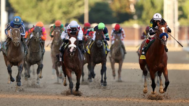 The second leg of the Triple Crown is on. Learn the stakes of Preakness and see if Medina Spirit will be racing today. Don't miss a minute and stream now!