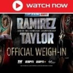 Jose Ramirez and Josh Taylor will fight to decide the world's undisputed junior welterweight champion. Here's the live stream!